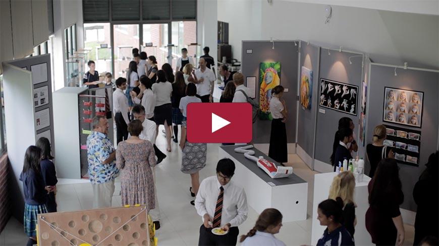 IB Visual Art & Design Technology Exhibition