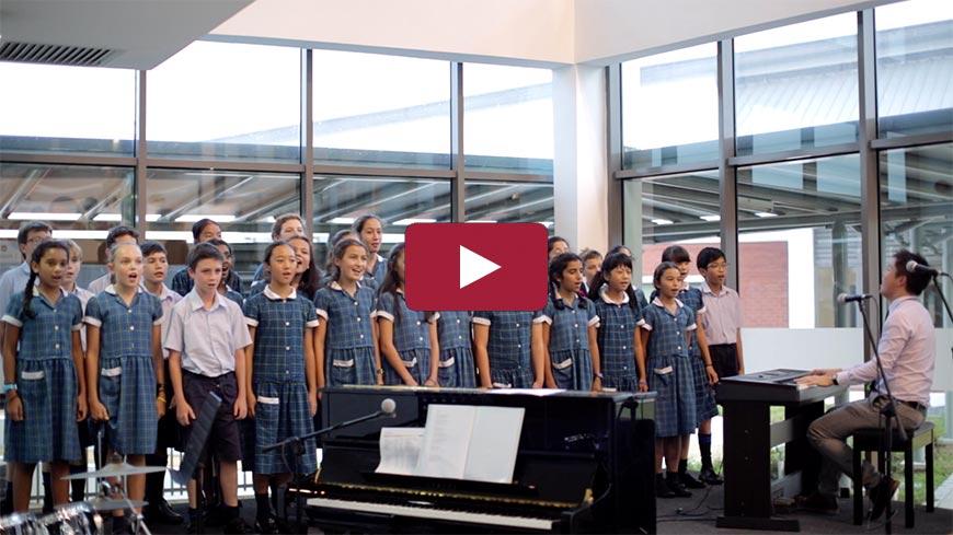 Prep School Music Choir