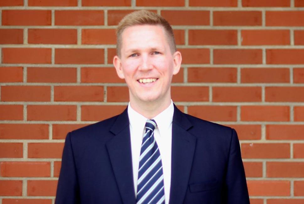 Head of English: James E R Unsworth