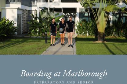 Boarding at Marlborough Booklet