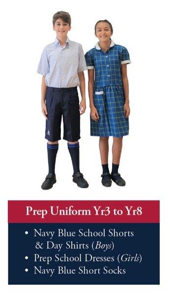 Prep Uniform