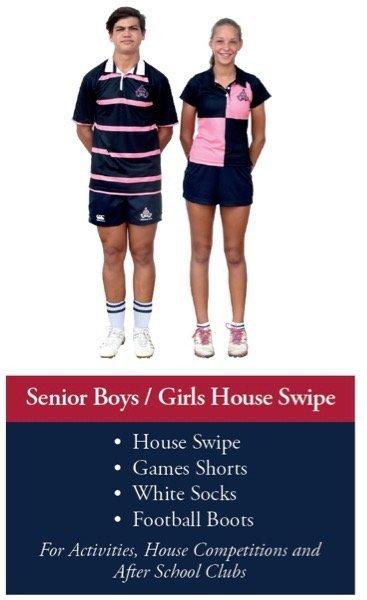 Senior School House Swipes
