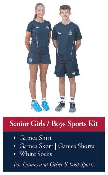 Senior School Sports Kit